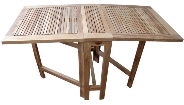 Liquidaci n en mesas plegables de madera teka - Mesas de madera plegables para exterior ...