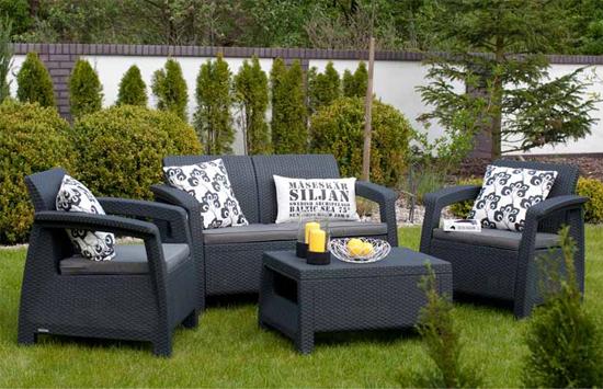 Muebles para jardín, como sillas o mesas, con grandes descuentos